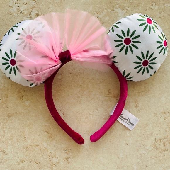 Disney Mickey Minnie PINK Haunted Mansion Tightrope Walker Girl headband Ears